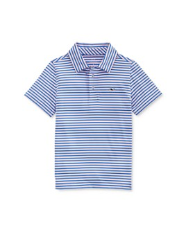 Vineyard Vines - Boys' Clubhouse Striped Polo Shirt - Little Kid, Big Kid