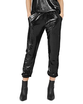 David Lerner - James Sequined Jogger Pants