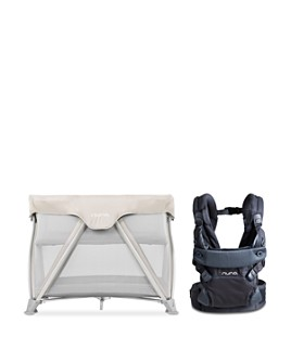 Nuna - Cove™ Aire Travel Cot & Cudl Baby Carrier Bundle