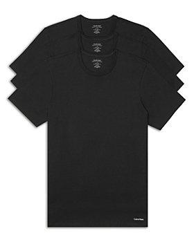 Calvin Klein - Short-Sleeve Crewneck Slim Fit Tee - Pack of 3