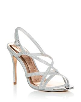 Ted Baker - Women's Lurex Strappy High-Heel Sandals