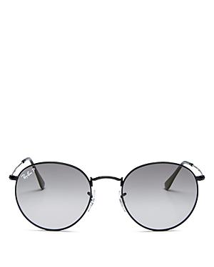 Ray-Ban Unisex Evolve Polarized Round Sunglasses, 53mm