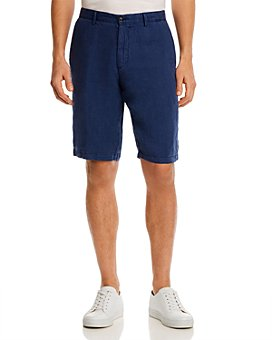 BOSS - Rigan Regular Fit Linen Shorts