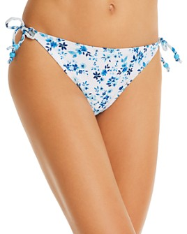 Shoshanna - Starboard Floral Clean Triangle Bikini Bottom