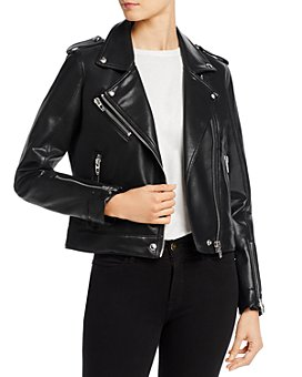 BLANKNYC - Faux Leather Moto Jacket