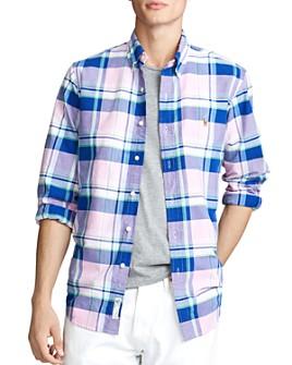 Polo Ralph Lauren - Classic Fit Plaid Button-Down Oxford Shirt
