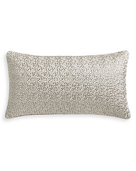 "Hudson Park Collection - Terrazzo Embroidered Decorative Pillow, 12"" x 22"" - 100% Exclusive"