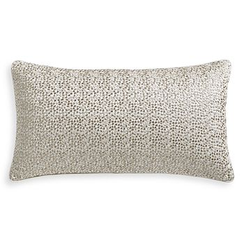 """Hudson Park Collection - Terrazzo Embroidered Decorative Pillow, 12"""" x 22"""" - 100% Exclusive"""
