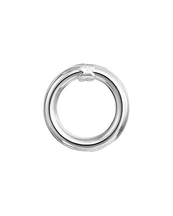 TOUS - Sterling Silver Small Hold Ring Pendant