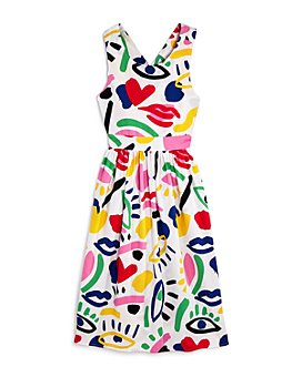 Stella McCartney - Girls' Graphic Print Dress - Little Kid, Big Kid