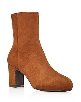 Stuart Weitzman - Women's Gianella Block Heel Booties
