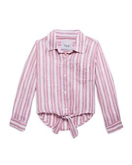 Rails - Girls' Valerie Striped Tie-Front Shirt - Little Kid, Big Kid