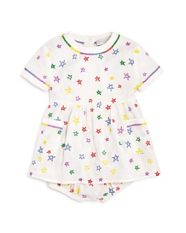 Stella McCartney - Girls' Embroidered Star Dress & Embroidered Star Bloomers - Baby