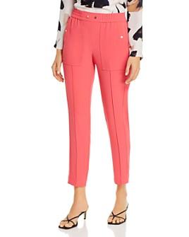 NIC and ZOE - Straight-Leg Patch-Pocket Pants