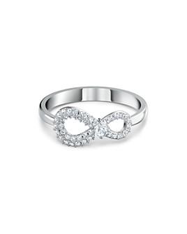 Swarovski - Infinity Pavé-Detail Ring
