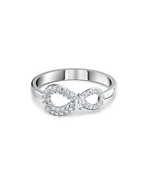 Swarovski Infinity Pave Detail Ring