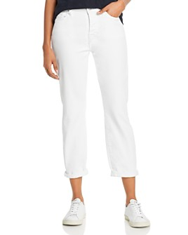 7 For All Mankind - Josefina Jeans in in Broken Twill White