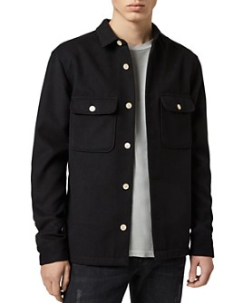 ALLSAINTS - Lamoure Moleskin Relaxed Fit Button-Down Shirt