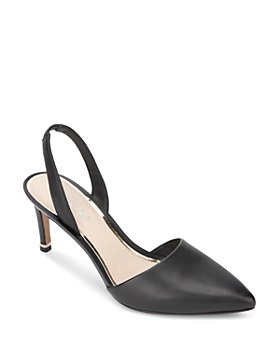 Kenneth Cole - Women's Riley Leather Slingback Pumps