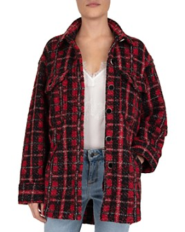 The Kooples - Tweed Checked Button-Down Shirt