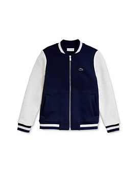 Lacoste -  Boys' Color-Block Baseball Jacket - Little Kid, Big Kid