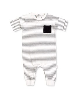 Miles Baby - Girls' Striped Playsuit - Baby