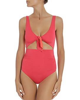 Stella McCartney - Tie-Front One Piece Swimsuit