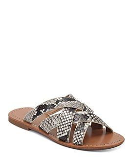 Marc Fisher LTD. - Women's Roony Snake-Print Sandals
