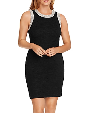 Vince Camuto Eyelash Tweed Sleeveless Dress-Women