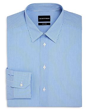 Cotton Striped Regular-Fit Dress Shirt