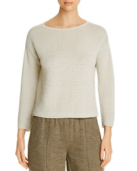 Eileen Fisher - Ribbed Sweater
