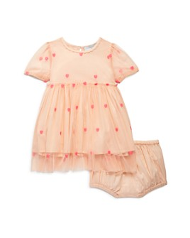Stella McCartney - Girls' Embroidered Tulle Dress & Bloomer Set - Baby