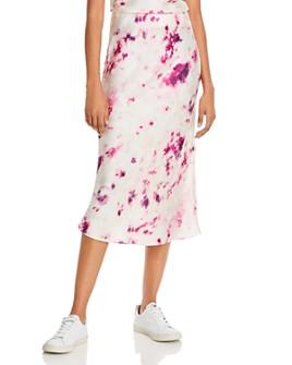 Bardot - Kendal Tie-Dye Slip Skirt