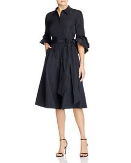 Lafayette 148 New York - Hughes Belted Shirt Dress