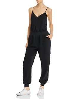 Cinq à Sept - Sleeveless Elastic-Waist Jumpsuit