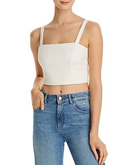 FRENCH CONNECTION - Straight Crop Top