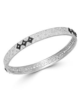 Armenta - Sterling Silver New World Champagne Diamond Crivelli Bangle Bracelet
