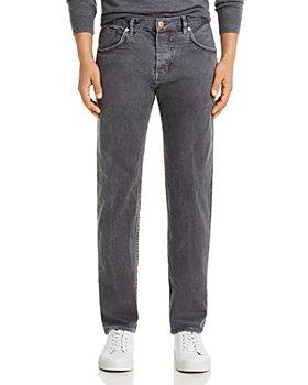 Billy Reid - Slim Fit Jeans in Charcoal