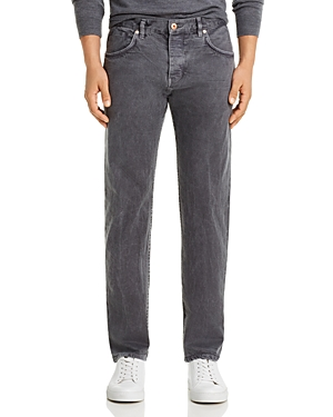 Billy Reid Slim Fit Jeans in Charcoal
