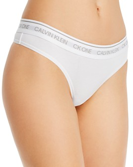 Calvin Klein - CK One Cotton-Blend Thong