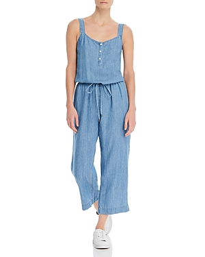 Rails Brooklyn Sleeveless Chambray Jumpsuit-Women