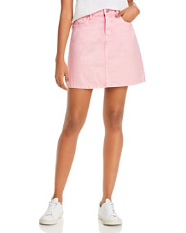 BLANKNYC - A-Line Denim Mini Skirt
