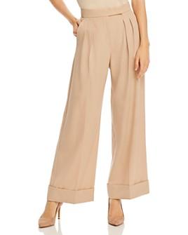 Max Mara - Bonn Pleated Wide-Leg Virgin Wool Pants