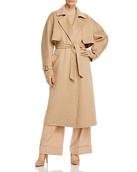 Max Mara - Agar Removable-Bolero Cashmere & Camel Hair Coat