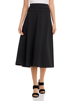NIC and ZOE - Tech Ruched-Waist Skirt