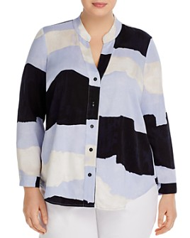 NIC and ZOE Plus - Printed Shirt