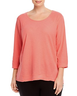 Marc New York Plus - Plus Raw-Hem T-Shirt