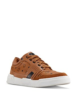 MCM - Women's Visetos Low-Top Sneakers