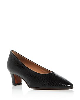 Marni - Women's Lizard-Embossed Pointed-Toe Pumps
