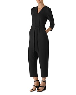 Whistles - Zip-Up Belted Jumpsuit